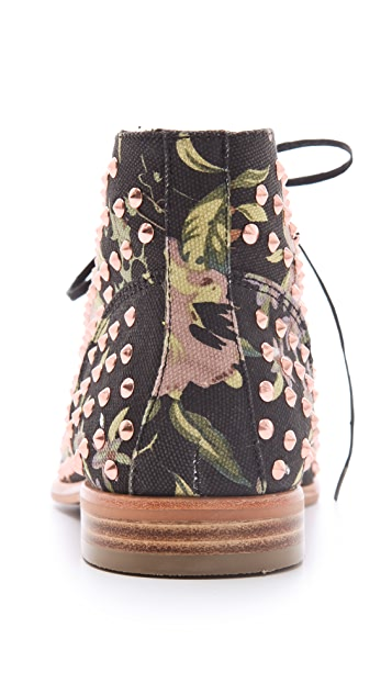 Matiko Oliver Floral Studded Booties