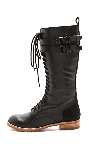 Matiko Noah Lace Up Boots