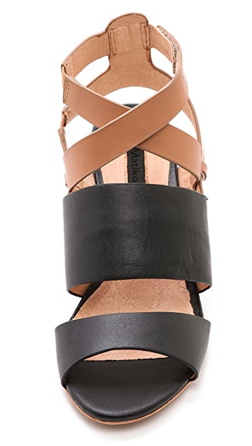 Matiko Petra Wedge Sandals