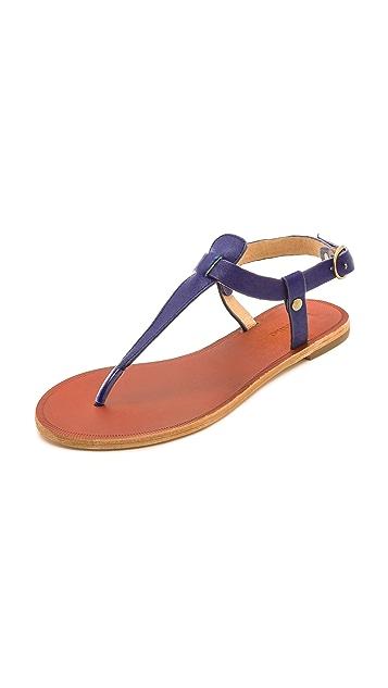 Matiko Meli T Strap Sandals