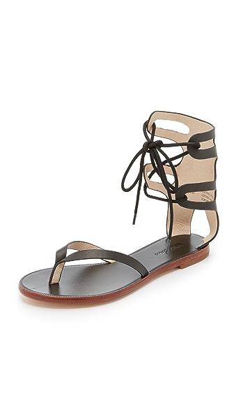 Matiko Eldora Gladiator Sandals - Black