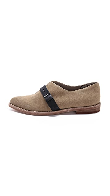 Matt Bernson Becket Suede Oxfords
