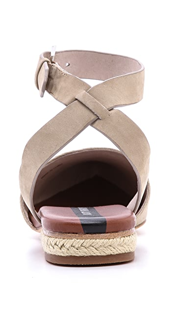 Matt Bernson Cava Ankle Strap Flats