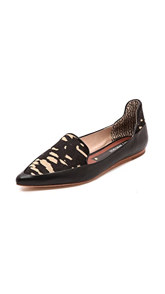Matt Bernson Verona Pointed Toe Haircalf Flats