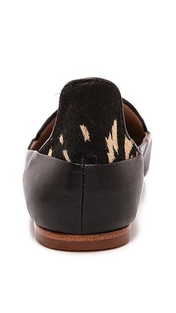 Matt Bernson Verona Pointed Toe Haircalf Flats