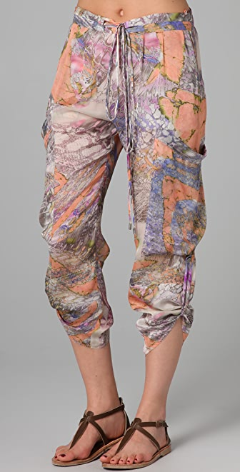 Matthew Williamson Escape Utility Cover Up Pants