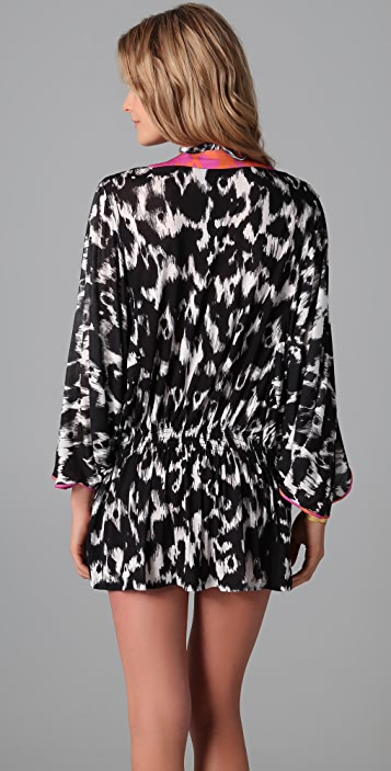 Matthew Williamson Escape Leopard Cover Up