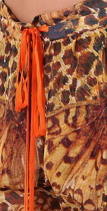 Matthew Williamson Escape Leopard Papillon Utility Pants