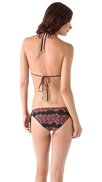 Matthew Williamson Escape Faze Stripe Triangle Bikini
