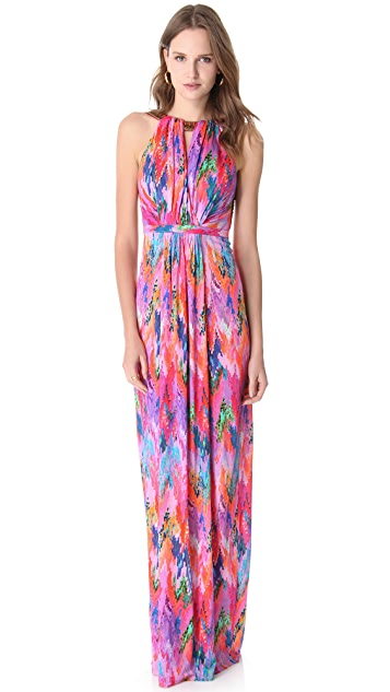 Matthew Williamson Escape Column Cover Up Dress