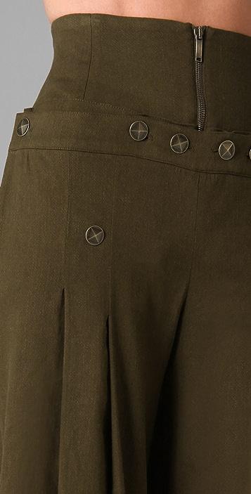 Matthew Williamson High Waisted Sailor Pants