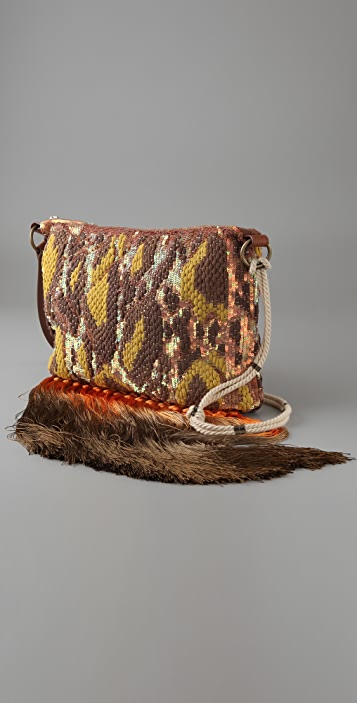Matthew Williamson Chiffon Weave Bag