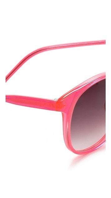 Matthew Williamson Round Sunglasses