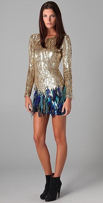 Matthew Williamson Liquid Silk Dress