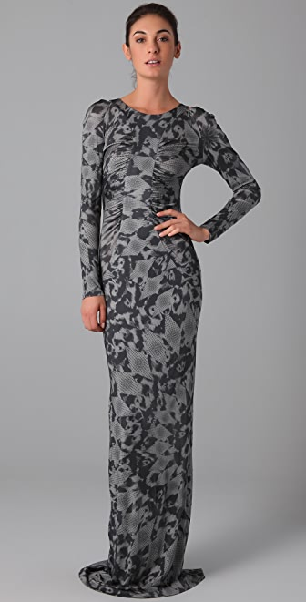 Matthew Williamson Keyhole Column Dress