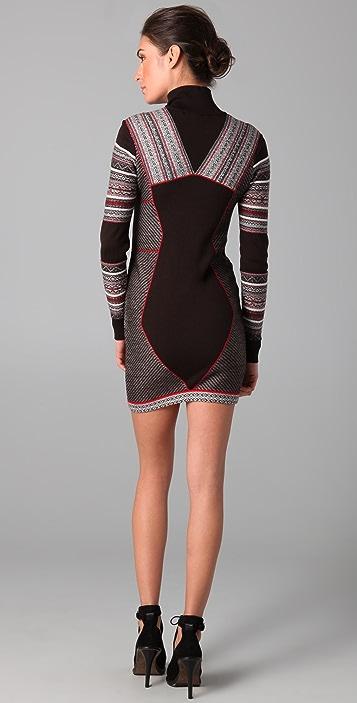 Matthew Williamson Inuit Paneled Dress