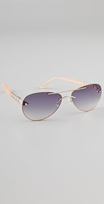 Matthew Williamson Aviator Sunglasses