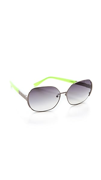 Matthew Williamson Metal Sunglasses