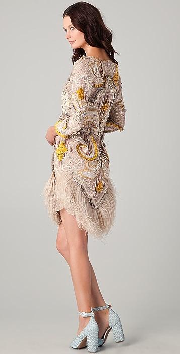 Matthew Williamson Plunge Front Dress