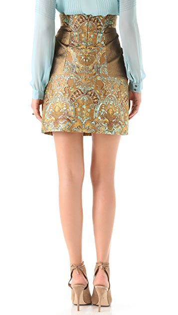 Matthew Williamson Embroidered Skirt