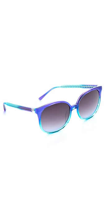 Matthew Williamson Oversized Retro Sunglasses