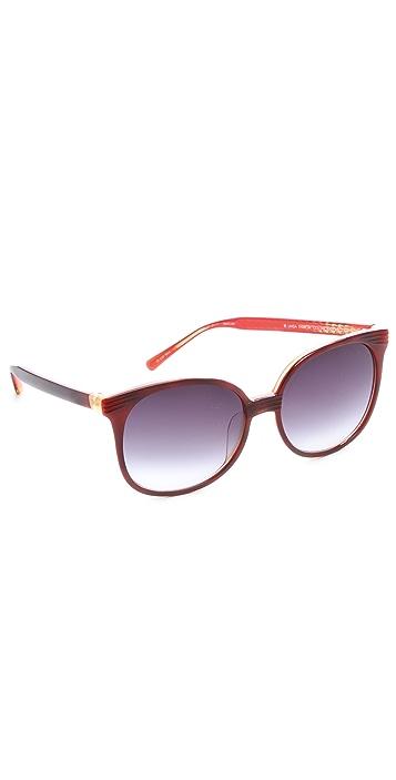 Matthew Williamson Oversized Retro Sunglasses
