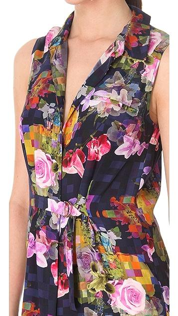 Matthew Williamson Floor Length Shirtdress