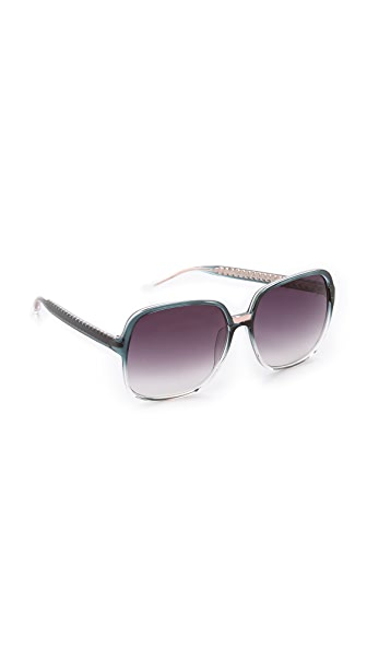 Matthew Williamson Ombre Oversized Sunglasses