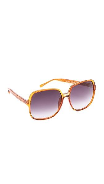 Matthew Williamson Oversized Square Sunglasses