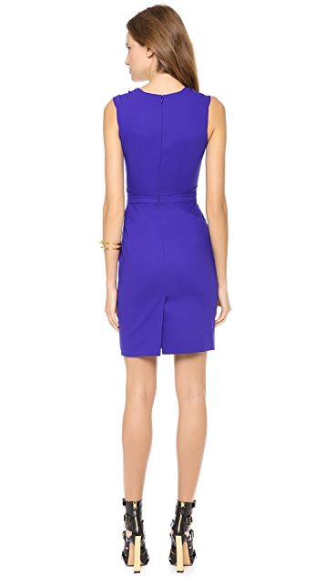 Matthew Williamson Cross Front Shift Dress
