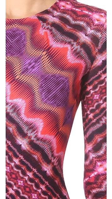 Matthew Williamson Nomadic Stripe Shift Dress
