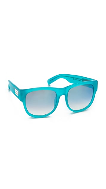 Matthew Williamson Colored Lens Sunglasses