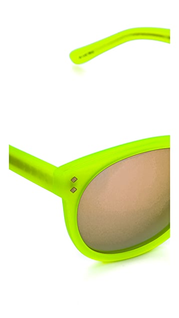 Matthew Williamson Neon Sunglasses