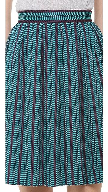 Matthew Williamson Box Pleat Skirt