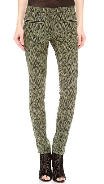 Matthew Williamson Low Rise Zippy Pants