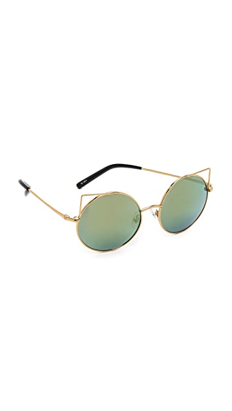 Matthew Williamson Cat Round Sunglasses