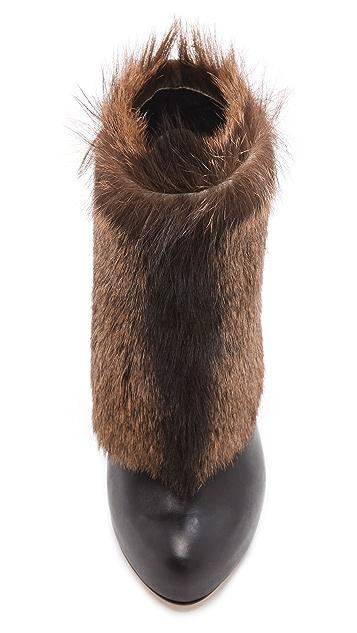 Max Kibardin Avalon Fur Booties