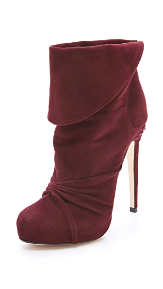 Max Kibardin Asteria Ruched Booties