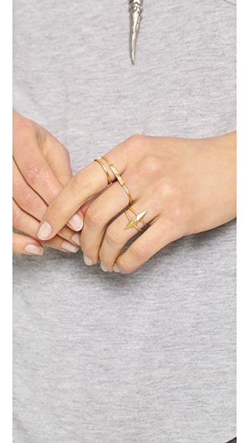 Maria Black Darling Double Ring