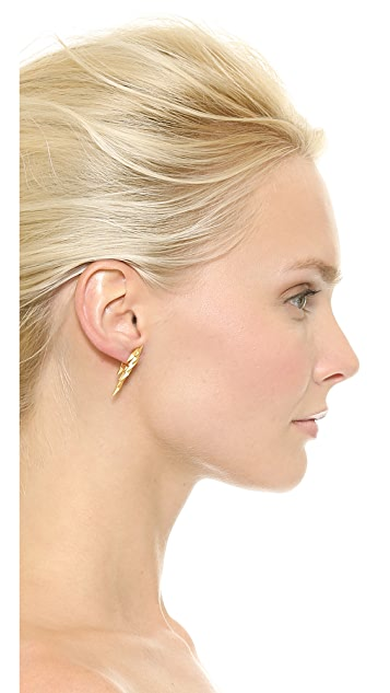 Maria Black Ziggy Earring Set
