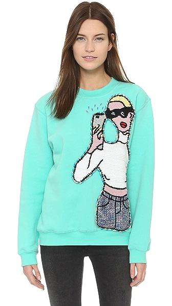 Michaela Buerger Selfie Sweatshirt