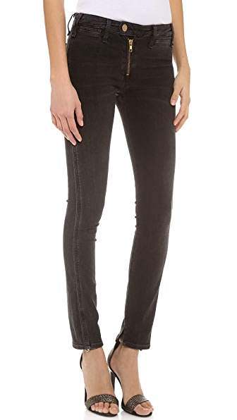 McGuire Denim Exposed Zip Gotham Slim Jeans