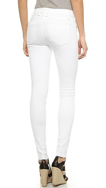 McGuire Denim Newton Skinny Jeans with Raw Hem