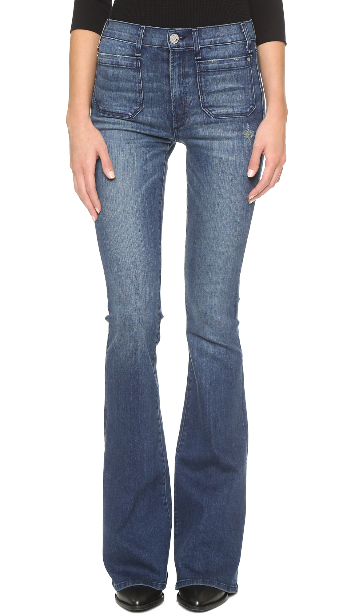 McGuire Denim The Principle Mid Rise Flare Jeans | 15% off first ...