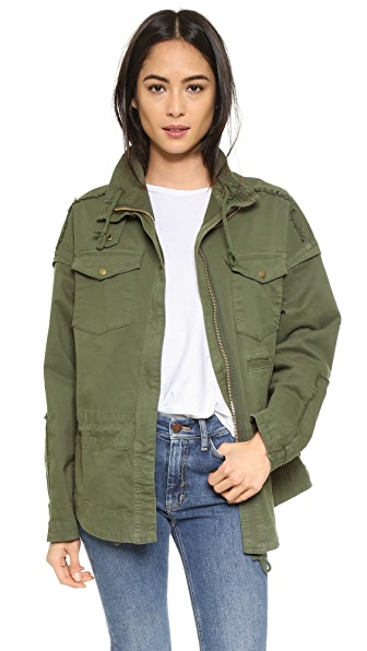 McGuire Denim Army Jacket