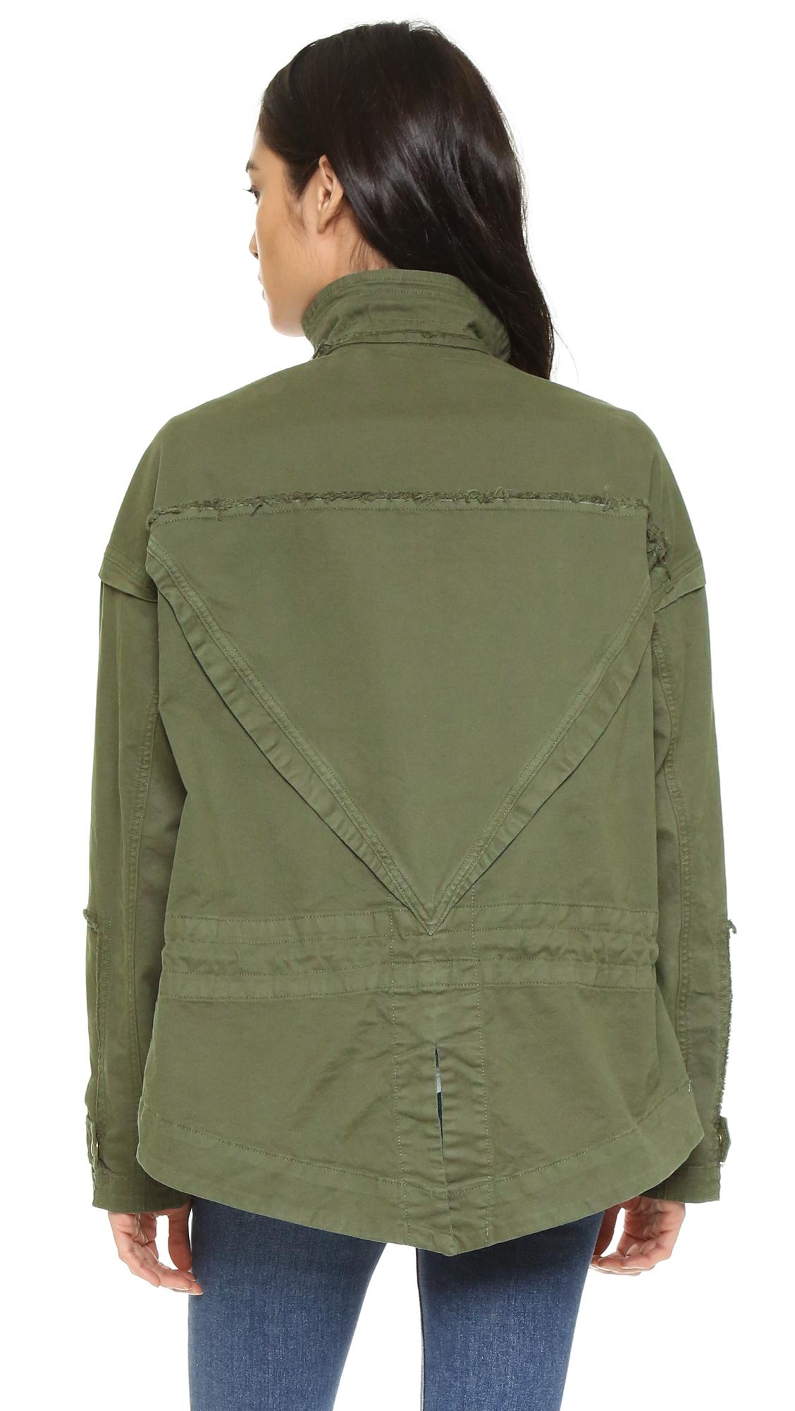 f16a842d31d McGuire Denim Army Jacket