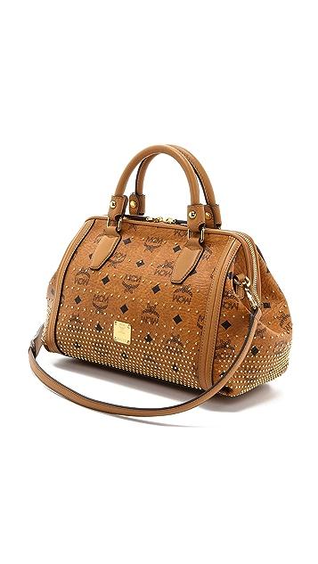 MCM Small Boston Bag