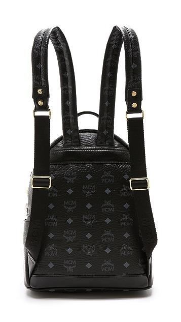 MCM Stark M Stud Small Backpack