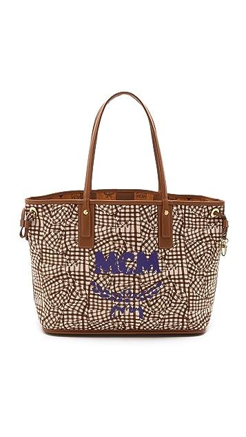 MCM Liz Reversible Medium Shopper