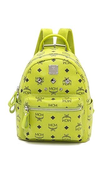 MCM Stark Sprinkle Stud Mini Backpack